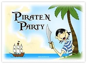 10 einladungen zum kindergeburtstag f r jungs piraten party einladung pirat f r jungen. Black Bedroom Furniture Sets. Home Design Ideas