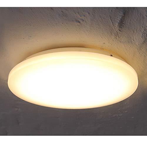 COOLWEST Lámpara Techo 18W Plafones Blanco Cálido