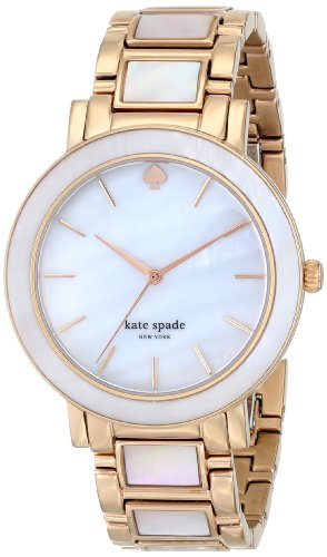 Kate Spade 1YRU0396 Ladies Gramercy Grand Rose Gold Steel Bracelet Watch