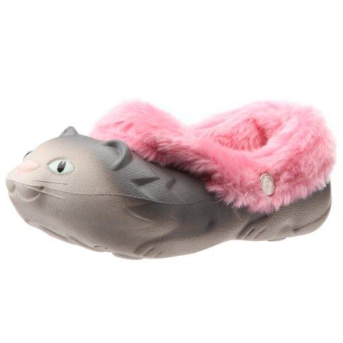 Polliwalks, Pantofole per bambini con gattino, a pois