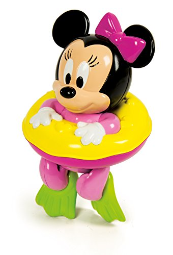Clementoni 17121.7 Mickey Mouse and Friends Badende Baby Minnie Puppe - Puppen Maus Minnie