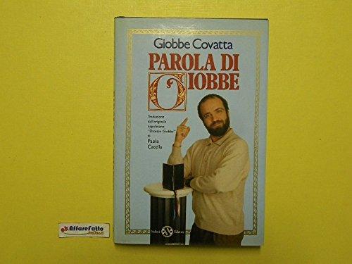 J 387 LIBRO PAROLA DI GIOBBE A CURA DI GIOBBE COVATTA 1991
