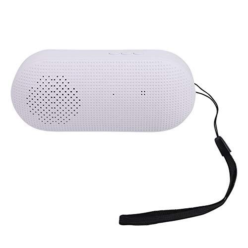 Preisvergleich Produktbild HiFi Tragbarer drahtloser Bluetooth-Lautsprecher Stereo-Soundleiste TF-Subwoofer-Säulenlautsprecher mit Handschlaufe für Samsung-Computer-Handys