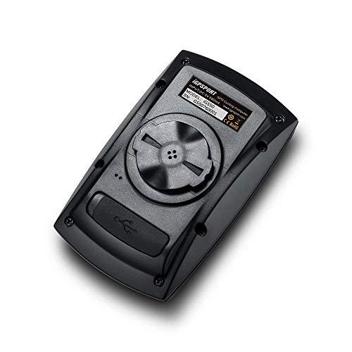 iGPSPORT GPS Drahtloser Tacho Computer Kilometerzähler IPX7 Wasserdicht Mit ANT+ Function mit Halterung Englisch Version(Schwarz) … - 3