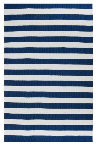 Fab Hab - Nantucket - Blue & White (120 cm x 180 cm) - PET