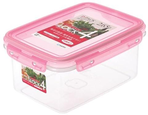 pack D serrure 4 2.65L rose DL-8d (Japon import / Le paquet et le manuel sont ?crites en japonais)