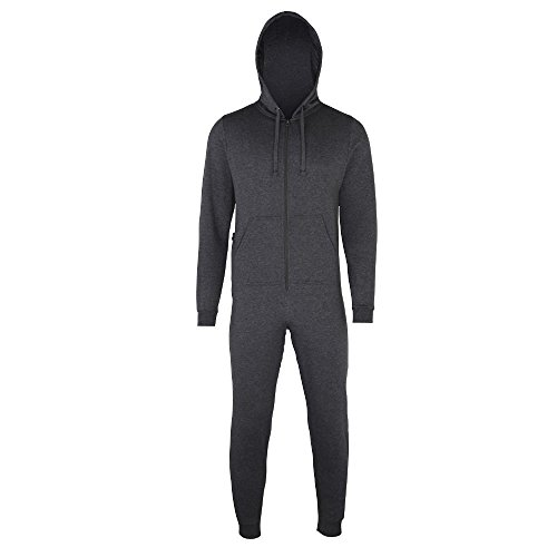 Comfy Co - Jumpsuit 'All-in-One' Charcoal