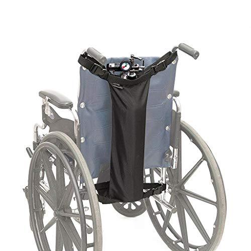 WUHX Sauerstoffflasche für Rollstühle, wasserdichte zylindrische Nylonpackung, für medizinische Zwecke, Zuhause, Krankenhaus