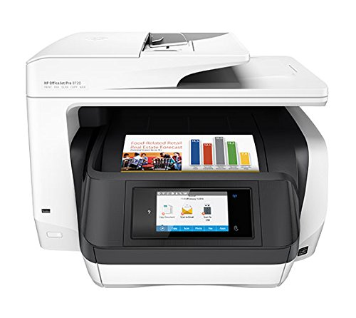 HP OfficeJet Pro 8720 All-in-One Printer (Print, Scan, Copy, Fax, Network, Wireless, Duplex, NFC)