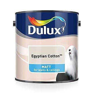 Dulux Matt Emulsion Paint For Walls And Ceilings - Egyptian Cotton 2.5L