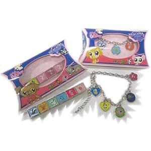 Hasbro - A0802009 - Bijou et Cosmétique - Bracelet Petshop Lps 2+4A