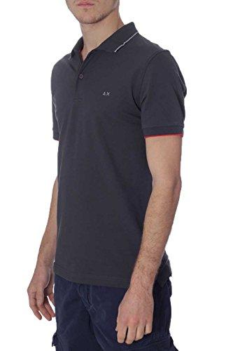 Polo Uomo Sun68 17105 47 Grigio Scuro, 3XL MainApps