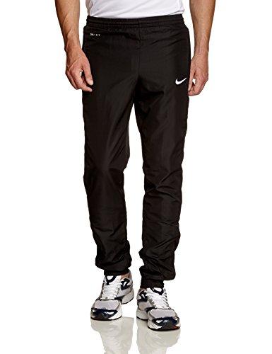 NIKE - Pantaloni sportivi da uomo, Libero, orlo alle caviglie elasticizzato, Nero (nero / bianco), L