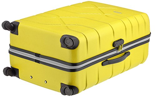 41x3Spx24SL - American Tourister Houston City 2 Pc Set B Juegos de maletas, 75 cm, 123 L, Amarillo (Amarillo)