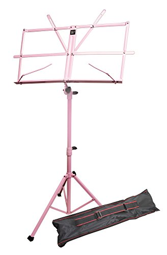 TECHNOTE 050151 PK   ATRIL PARA PARTITURA CON FUNDA  COLOR ROSA