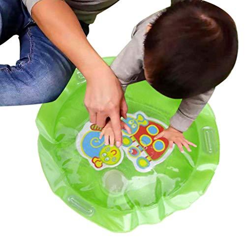 Mitlfuny Schwimmenden Boot Badespaß Zeit Großes Geschenk Bath Toys für Baby,Aufblasbare Babywassermatte Fun Activity Play Center für Kinder und Kleinkinder