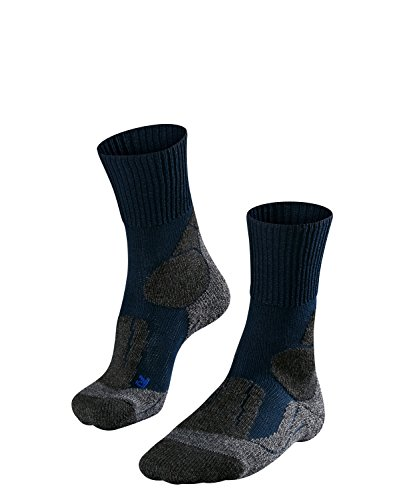 Falke TK1 Cool Chaussettes de Trekking Homme, Marine, FR : XL (Taille Fabricant : 46-48)