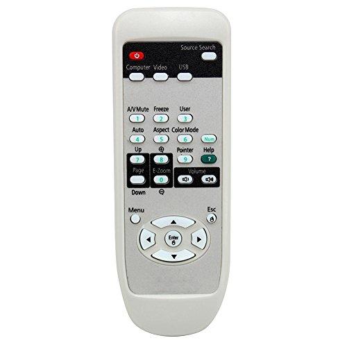821 Ersatz (Fernbedienung für Epson EMP-821 EMP-83 EMP-1700 EMP-1705 (Weiß), weiß)