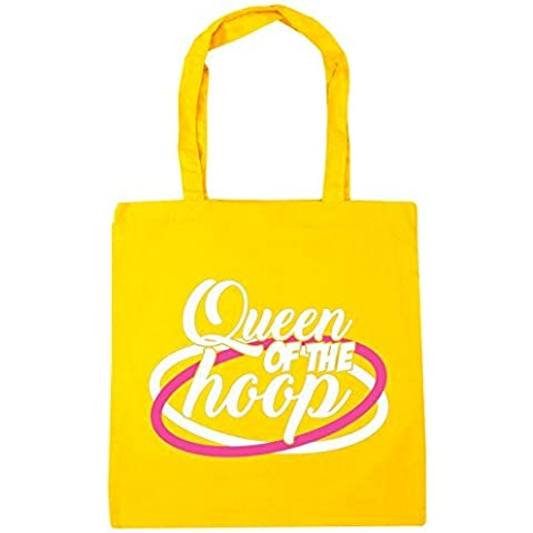 HippoWarehouse Queen of el aro Bolsa De Compras Gym Bolso De Playa 42cm x38cm, 10 litros
