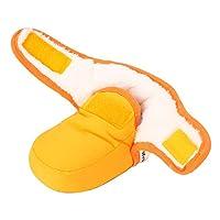 86d8b56267676 Lacofia Stivaletti morbidi invernali da bambino con suola morbida  antiscivolo scarpe calde da neonata giallo 6-12 mesi