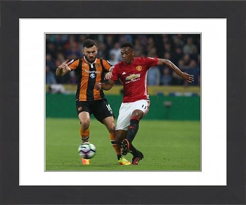 framed-print-of-hull-city-v-manchester-united-premier-league