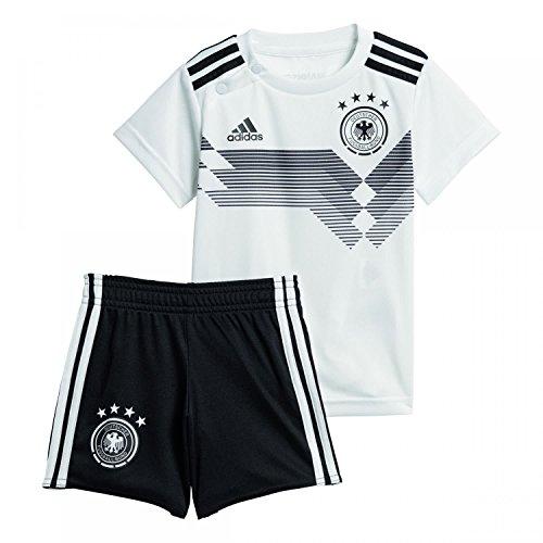 Adidas D04268Children's German National Team Football Babykit Home Jersey & Shorts & Socks, Children's, DFB Heim Babykit
