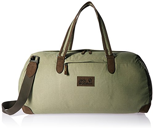Jack Wolfskin Abbey Road Duffle Bag, Unisex, Khaki, Large -