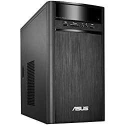 Asus K31AD-IN008D Desktop (Core i3-4170/4GB/1TB/DOS/Integrated Graphics), Black