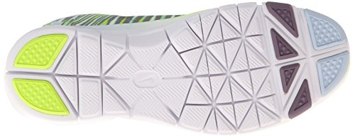 Nike - Free 5.0 Tr Fit 4 Print, Scarpe Da Ginnastica da donna Nero (Schwarz (Antarctica/White-Volt-Purple Stl))