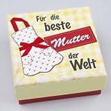 Ideen für Muttertag Geschenke Schöne Geschenke zum Muttertag - Soundbox Musikbox Muttertag Musik Geschenkverpackung Für die beste Mutter 9x9 cm Geschenkbox