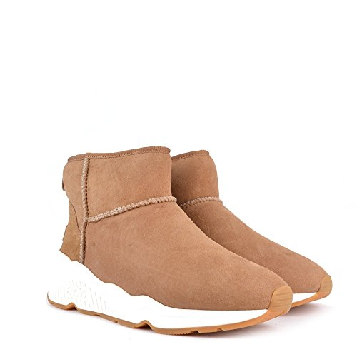 Ash Scarpe Miko Light Camel Boots Donna Light Camel