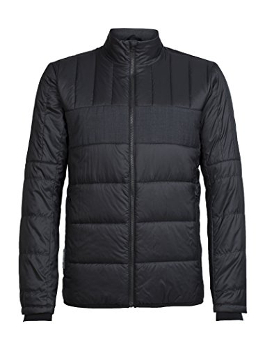 Icebreaker Herren Stratus X Jacket Jacke, Black/Jet Hthr, M (Icebreaker Jet)