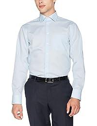 Seidensticker Herren Businesshemd Modern Langarm mit Kent-Kragen bügelfrei, Blau (Hellblau 48), Gr. 48