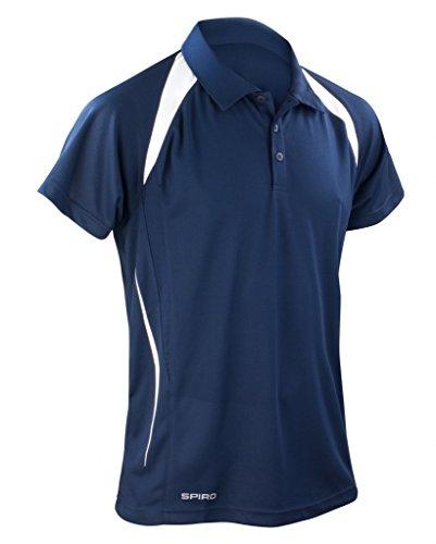 Cool-Dry Funktions-Poloshirt Team Spirit Navy/White