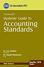Students' Guide to Accounting Standards(CA-Intermediate)(For May/Nov. 2018 Exams)