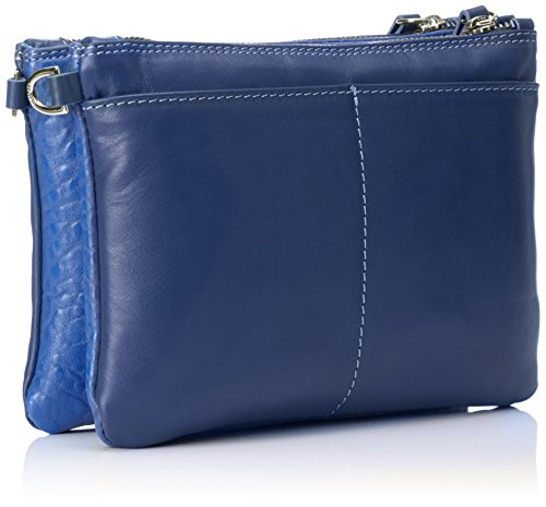 Gabs Damen Nala Umhängetasche, 3 x 16 x 23 cm Blau (Bluette)