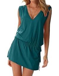"""Waooh - Mode - Robe courte d'été coloré """"Gillian"""""""