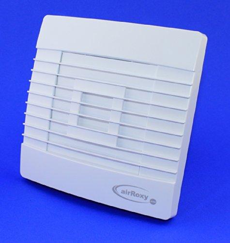 Baño Ventilador 100mm de diámetro, con persiana/Láminas con sensor de humedad/higrostato y...