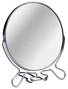 Premier Housewares 0509257 Miroir Grossissant avec Grand Support Cadre Chromé