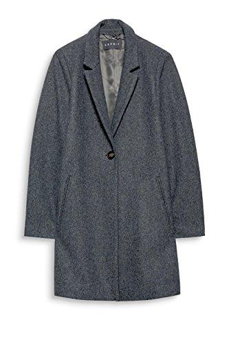 ESPRIT Collection Damen Mantel Grau (Medium Grey 5 039)