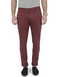 pantalons kaporal dilka rouge