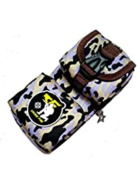 Homies International 1 Piece Stylish Camouflage Military Army Cross Fire Multi-Purpose Travel Pouch Bag, Stationery...