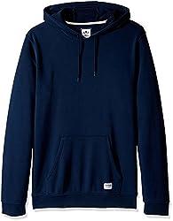 adidas Originals Mens Skateboarding Hoodie, Collegiate Navy/Garment Dye, Medium