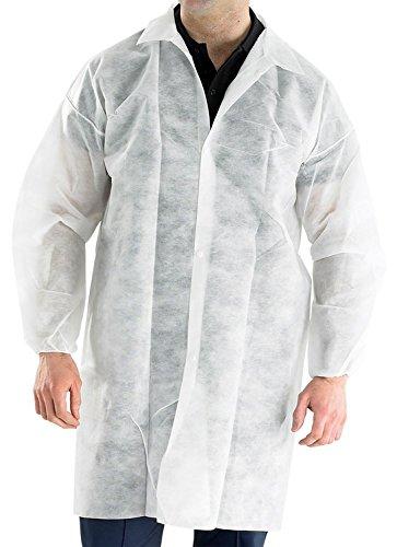 Polypropylen Einweg Besucherstuhl Coat Weiß–2X L 10Stück