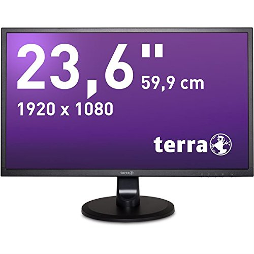 """'Wortmann AG 303002923,6""""Full HD MVA Schwarz Flach Flachbildschirm-PC LED Display–Flachbildschirm von PC (59,9cm (23,6), 1920x 1080Pixel, LED, 5ms, 250CD/m², Schwarz)"""