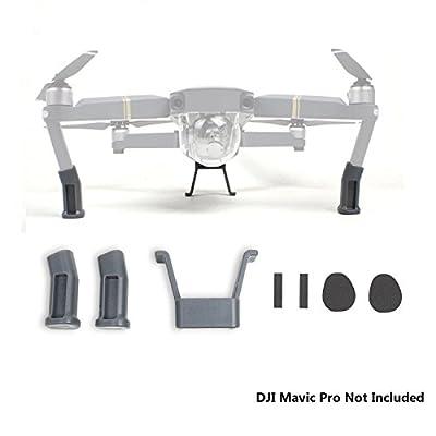 HowiseAcc Landing Gear for DJI Mavic Pro Legs Extender Bracket Protector Guard Drone Accessories