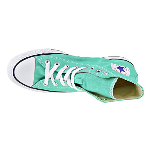 Converse Womens Chuck Taylor All Stars Seasonal Colour Hi Top Canvas Trainers Menta