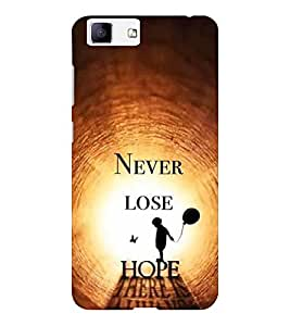 EPICCASE spark of life Mobile Back Case Cover For Vivo X5 (Designer Case)