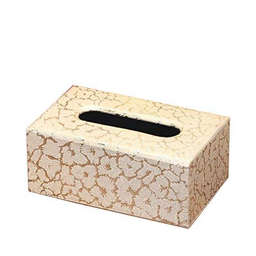 KinTTnyfgi Papierhandtuchbox Home Stay in The TeaRoom Wohnzimmer for The Tray Creative Lovely Minimalist Pack Servietten Set von 1 Papierhalter