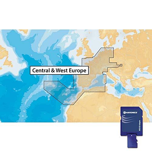 NAVIONICS microSD-Seekarte, Zone 46x G Zentrum und West-Europa